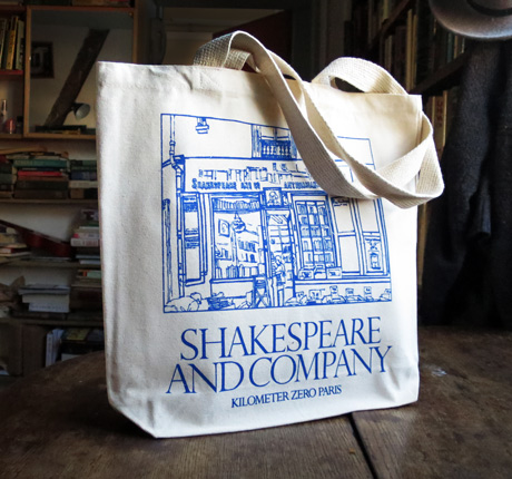 7b33b042f6f Classic Shop Facade Tote Bag - Gifts - Shakespeare and Company